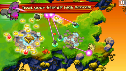 Screenshot from Ninja Hero Cats