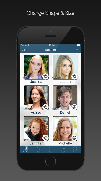 FaceDial for FaceTime Dialer Screenshot