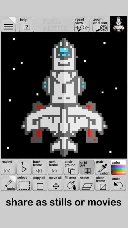 Pixel Master screenshot-4