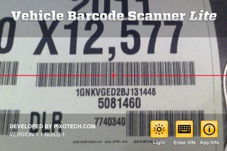 VIN Barcode Scanner LITE下载安装_应用信息历史版本公司简介_