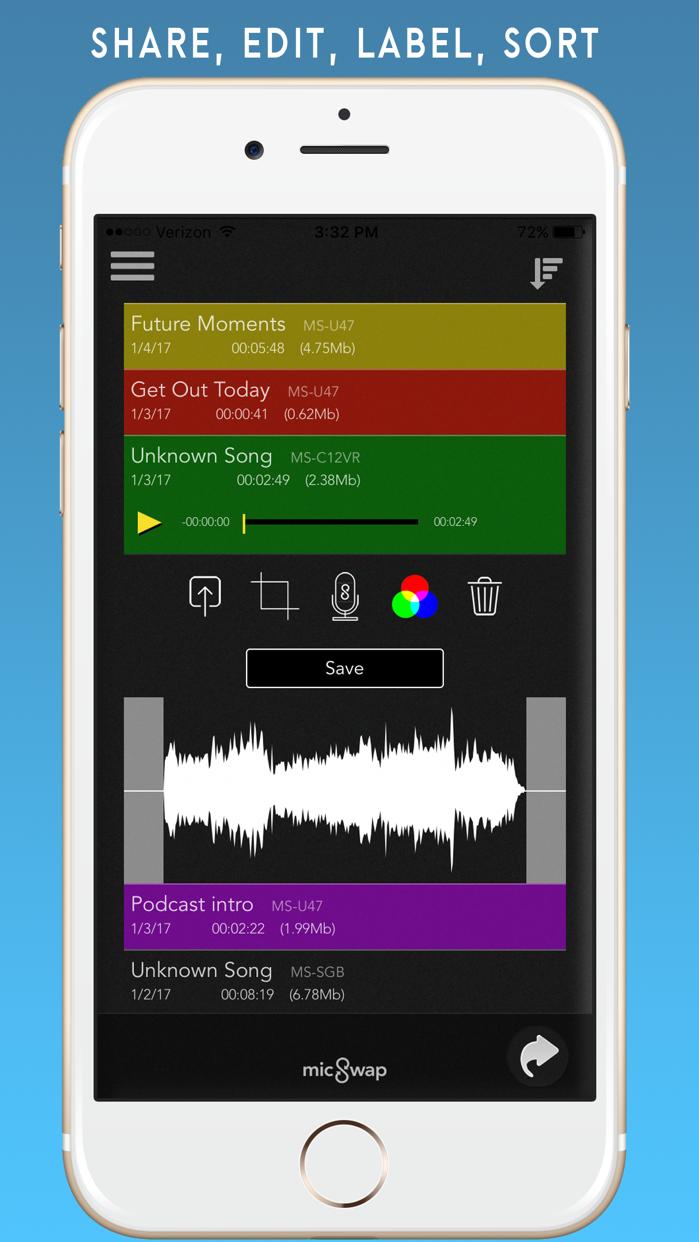 MicSwap: Microphone Emulator Screenshot
