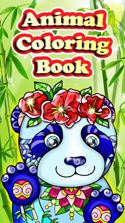 Coloring Pages for Adults with Animals Color Book!