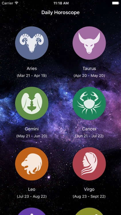 Horoscope Pro 2017 screenshot-0