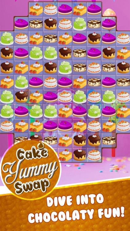 yummy cake match 3 screenshot-2