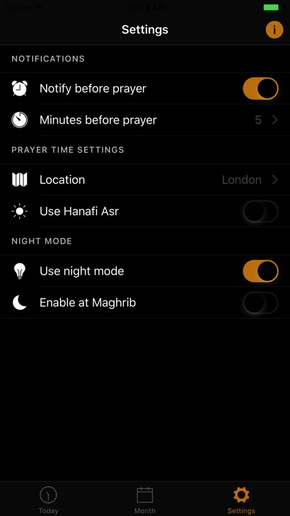 London Prayer Times screenshot-3