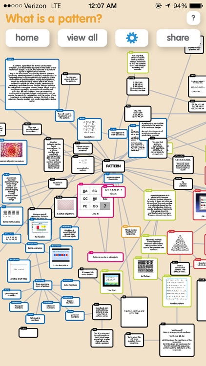 Popplet Lite screenshot-3