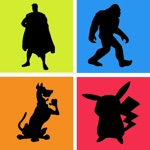 Guess the Shadow Quiz Tv Movie Cartoon Character