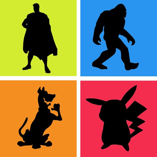 Guess the Shadow Quiz Tv Movie Cartoon Character iOS App