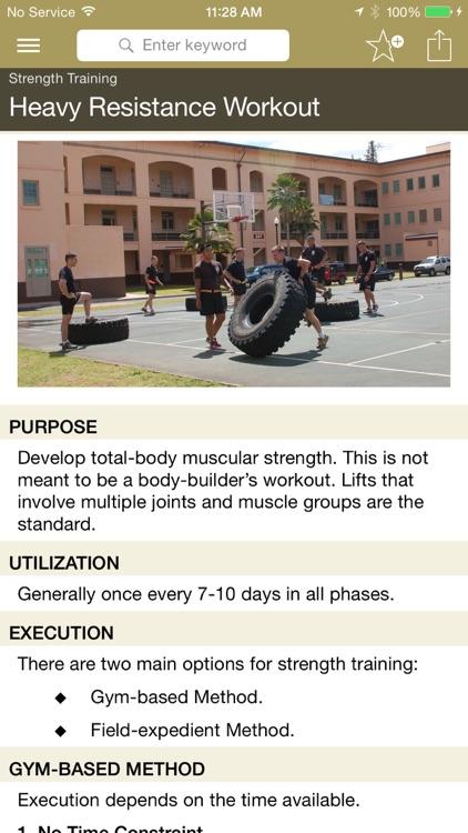 Army Ranger Fitness