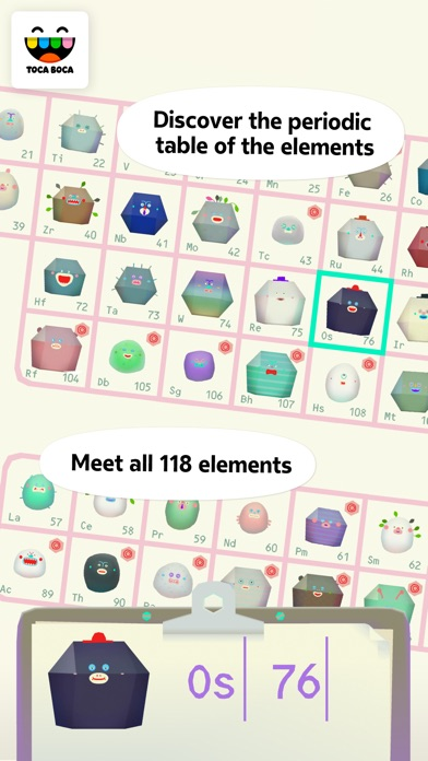 Toca Lab: Elements screenshot 1