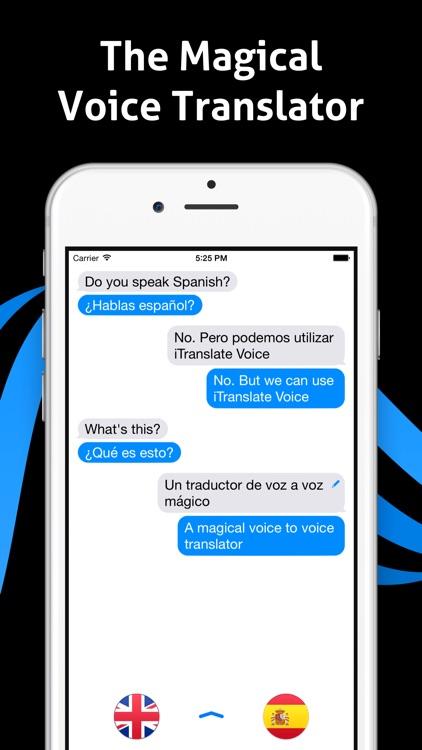 iTranslate Voice Lite - Speak & Translate screenshot-0