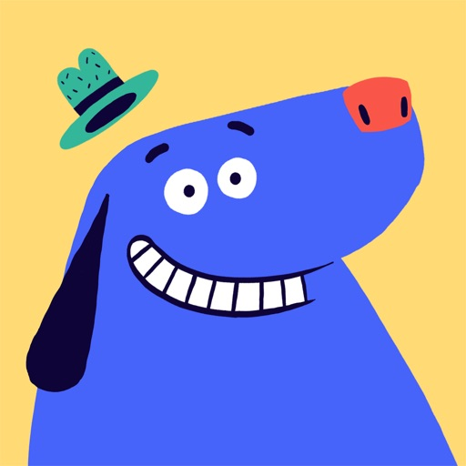 SZ Kinder-App: Der blaue Hund app logo