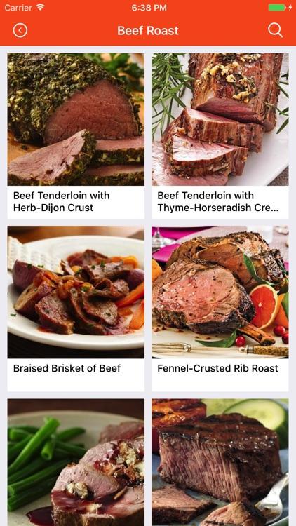 Beef Recipes: Food recipes, cookbook, meal plans