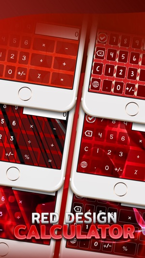 Calculator Keyboard Themes For Red Color 4