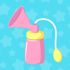 Pumping Tracker - Breast Milk Pump Log for Mama