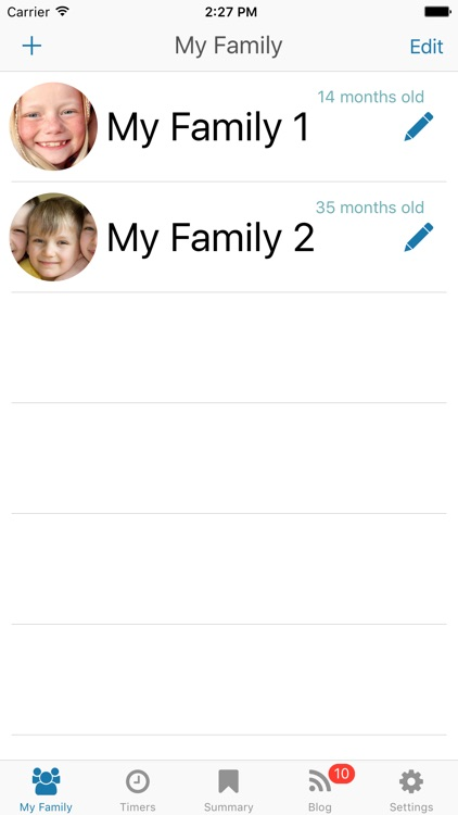 Basic Baby Feedings - log, track and chart food screenshot-4