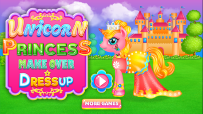 Unicorn Princess Dressup & Cleanup screenshot two