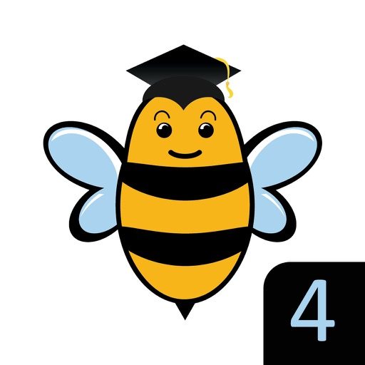 Spelling Bee for Kids - Spell 4 Letter Words icon