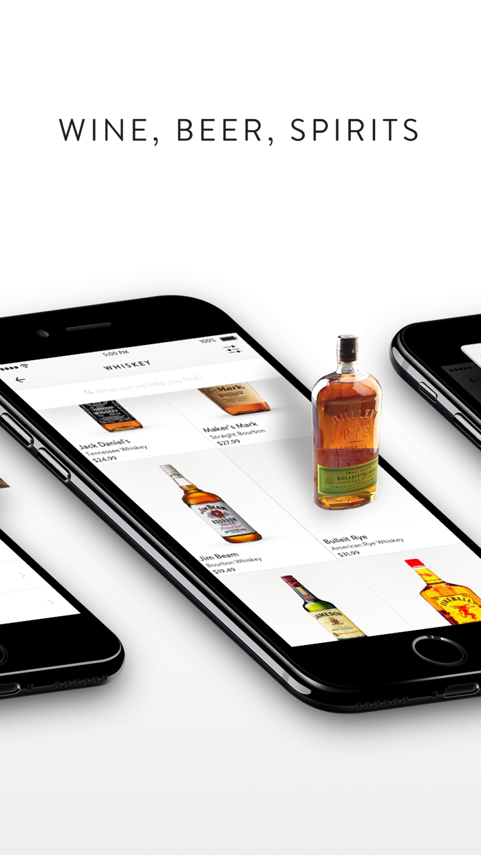 Saucey: Alcohol Delivery Screenshot