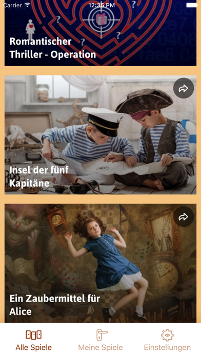 iDventure screenshot two
