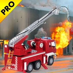 City Fire Fighter Rescue Truck Sim