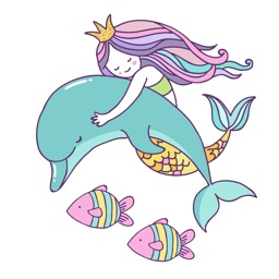 Beautiful Mermaids Under The Sea Stickers Pack