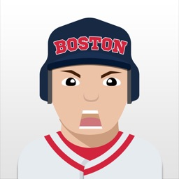 Boston Baseball Stickers & Emojis