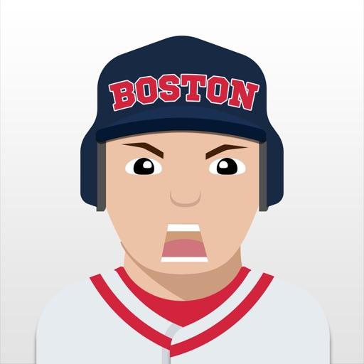 Boston Baseball Stickers & Emojis