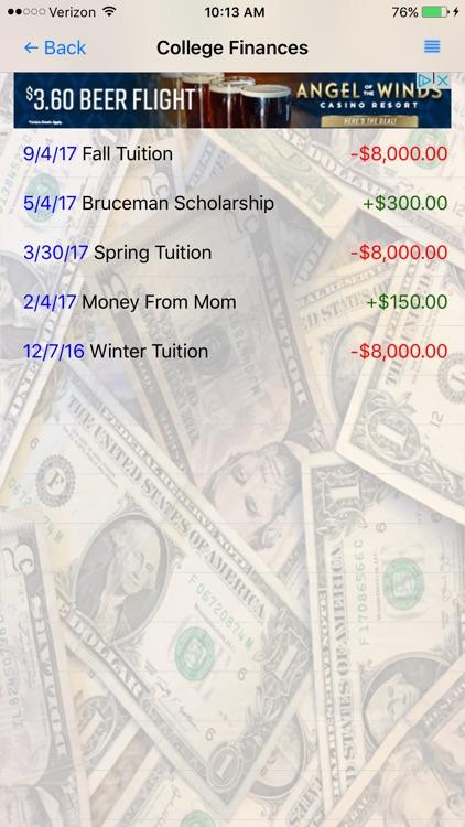 Simple Cash Tracker screenshot-4