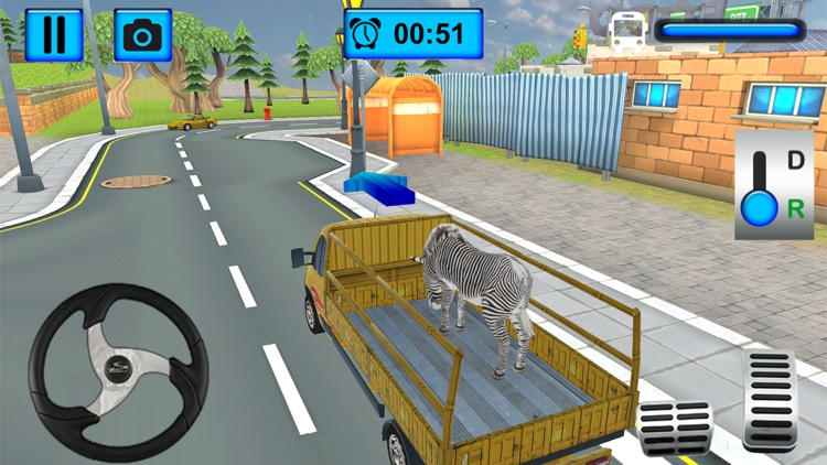 Cargo Truck Animal Transport