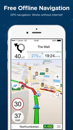 best free offline gps navigation app for iphone