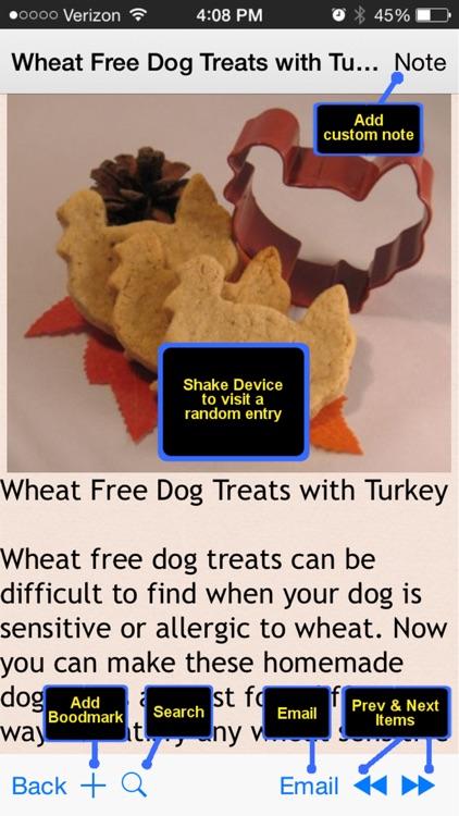 Homemade Pets Recipes screenshot-4