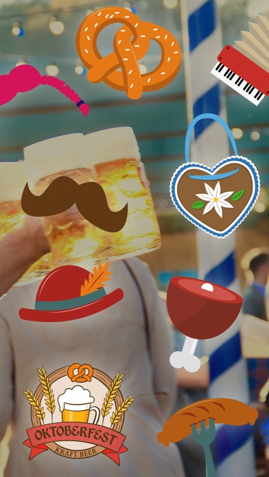 Octoberfest sticker package - Photo booth! screenshot 1