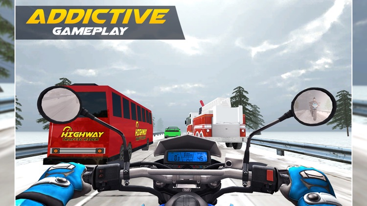 Highway Traffic Rider : Motorbike Rider screenshot-3