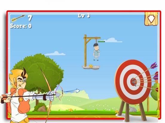 Bow Shoot Rescue Game screenshot 5