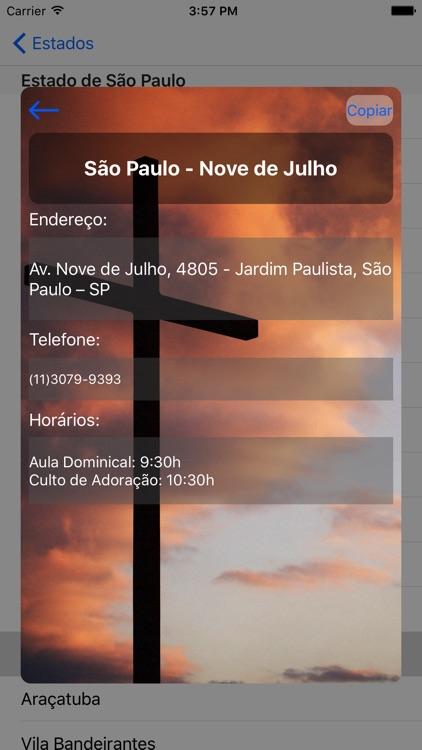 Igreja de Cristo no Brasil screenshot-3