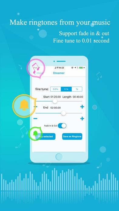 Ringtone Maker for iPhone&iPad Скриншоты4