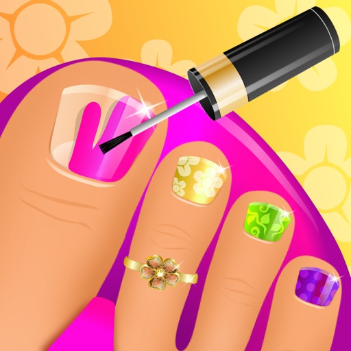 Summer Nail Spa Makeover Games
