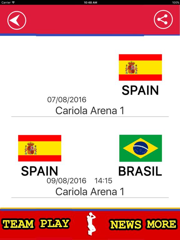 Spanish Basketball Team screenshot 7