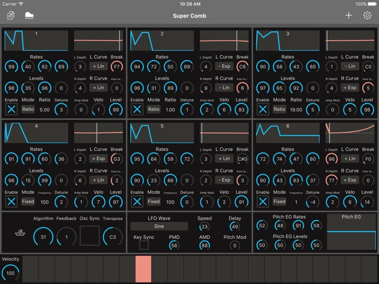 Patch Touch: for Yamaha DX/TX screenshot-4