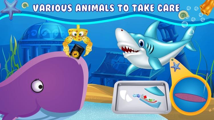 Ocean Doctor-Sea Surgeon of Animals screenshot-4