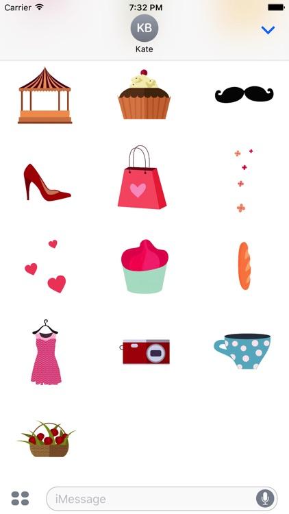 Animated Paris Stickers screenshot-3