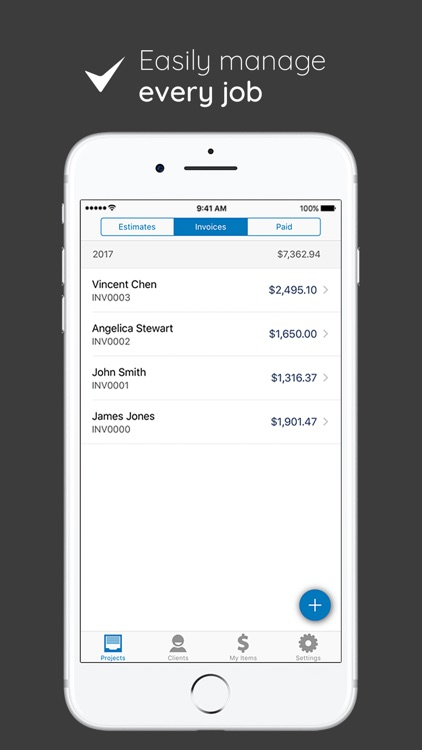 Invoice Simple - Invoice and Estimate on the Go app image