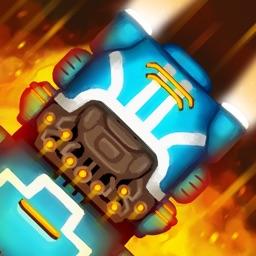 SQUAKE: snake trains battle action!