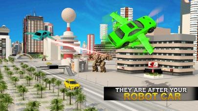 リアル ロボット ファイティング VS 飛行 車 ゲームのおすすめ画像1