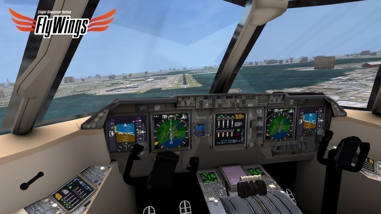 Flight Simulator FlyWings 2014 HD Screenshot