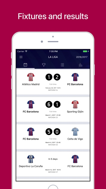 Barcelona Live – Scores & News for Barca Fans screenshot-3