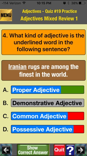 easyLearn Parts of Speech Bundle in English Grammar: Upper Elementary &  Middle School