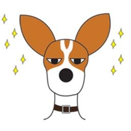 Jack Russel Terrier - Cowboy Dog Sticker
