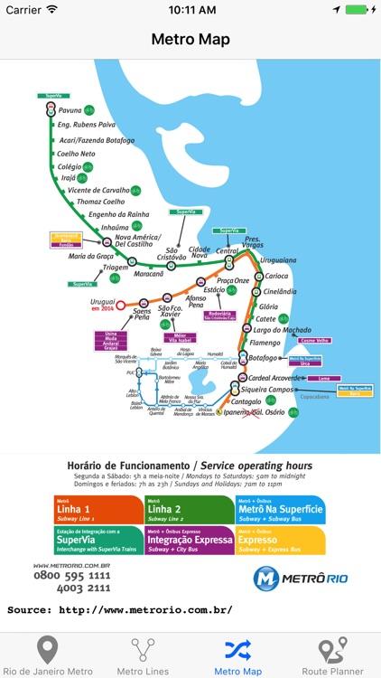Rio de Janeiro Metro screenshot-3